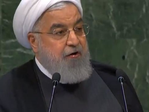 """Iran's Rouhani Blasts US For """"Nazi Disposition,"""" Dares Trump To """"Return To Negotiating Table"""""""