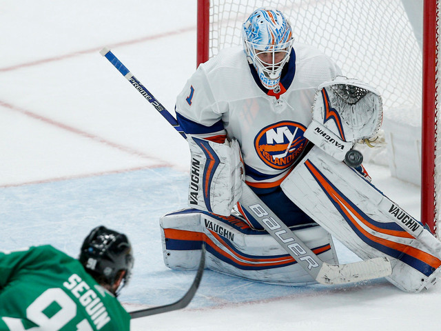 Islanders pay for penalties in loss to Stars