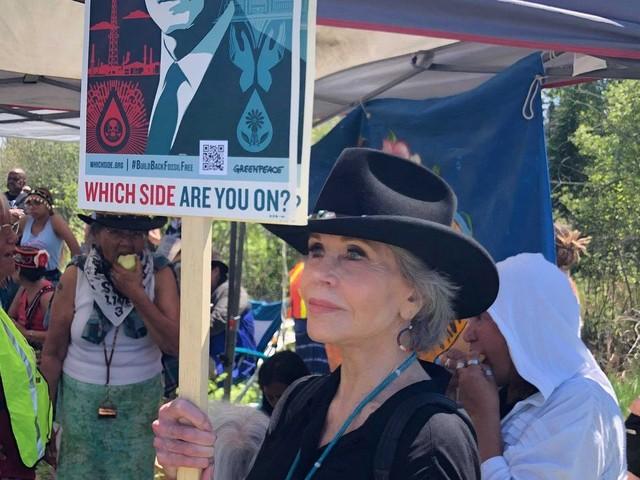 Jane Fonda: Biden 'not bold enough,' 'not fast enough' on tackling climate change