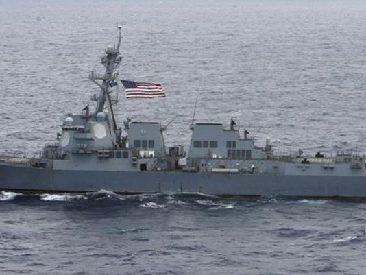 """US Destroyer Carrys Out Trump's 4th """"Freedom Of Navigation"""" Operation In South China Sea"""