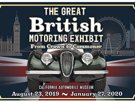 The British are coming!…to the California Automobile Museum