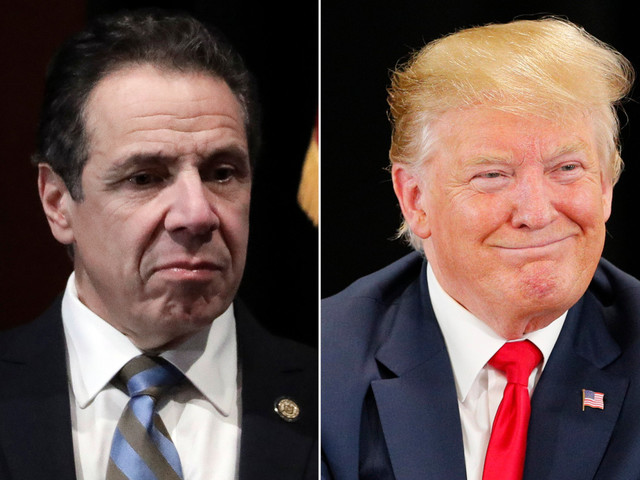 Cuomo actually paid less in taxes under Trump's plan