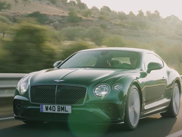 The Bentley Continental GT Speed Is An Opulent Coupe That Packs A Really Big Punch