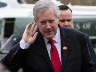 Meadows resigns House seat, starts at White House on Tuesday