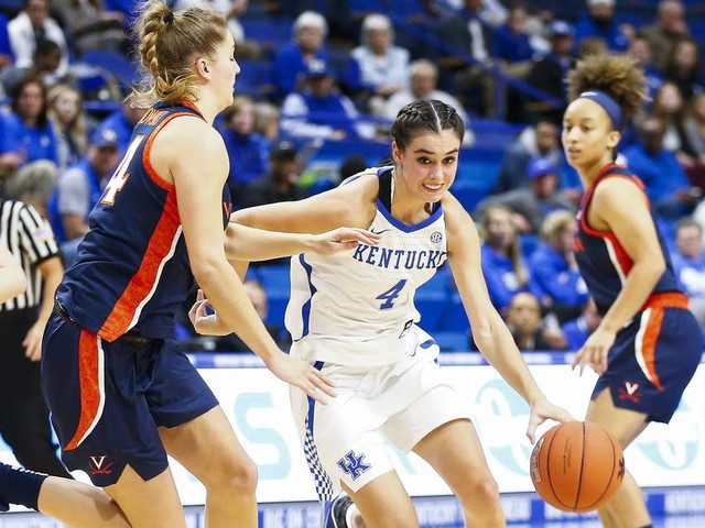 UK women won first two games by more than 50. This one was something else.