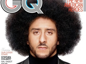 GQ's Citizen of the Year Colin Kaepernick Salutes Vets On Veterans Day + Redskin Josh Norman Gives Cleats To Vet, Steph Curry Makes Some 'Noise' For Our Soliders