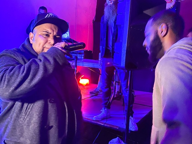 At rap battles in LA, throwing insults is meant to be uplifting