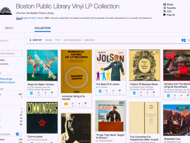 The Internet Archive Is Digitizing & Preserving Over 100,000 Vinyl Records: Hear 750 Full Albums Now