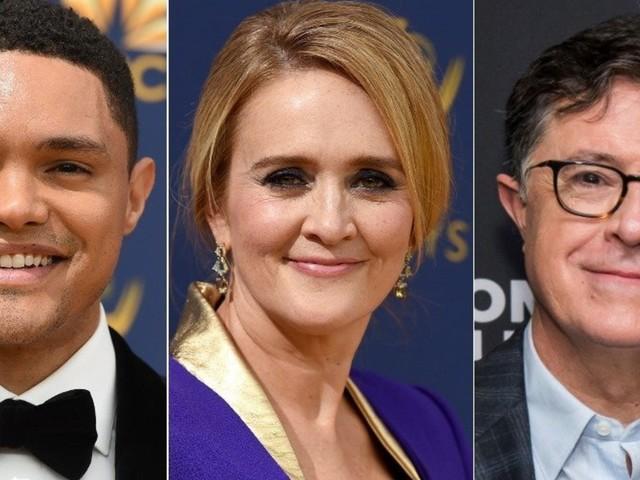 Late-Night TV Hosts Roast Donald Trump Over John Kelly's Departure