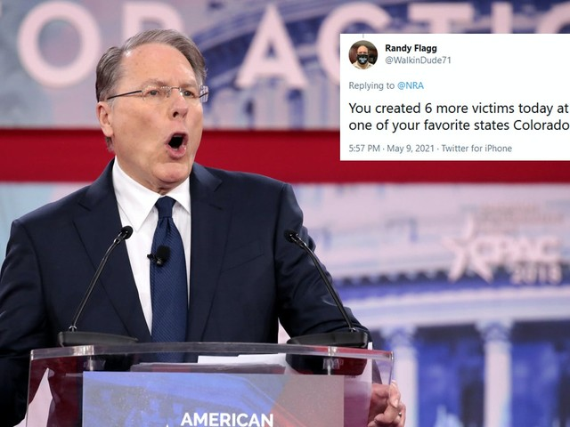 'Another mass shooting today': NRA Mother's Day tweet criticized for coming amid Colorado mass shooting