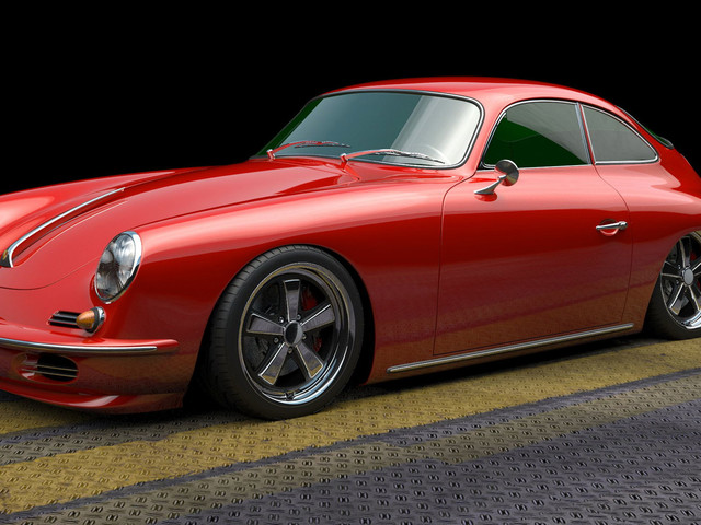This Porsche 356 Restomod Is Being Built On A 911 SC's Chassis