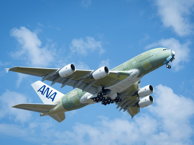 Japanese airline All Nippon Airways completes test flight of new plane in Hawaii