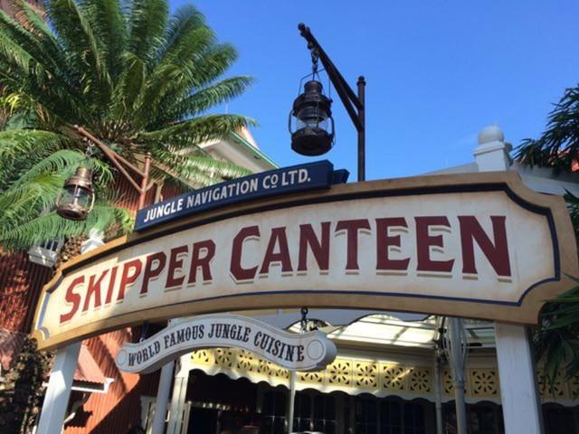 Enjoy a Post-River Cruise Feast at Adventureland's Jungle Navigation Co. LTD Skipper Canteen