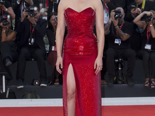 Scarlett Johansson in Celine at the Venice 'Marriage Story' premiere: cute or blah?