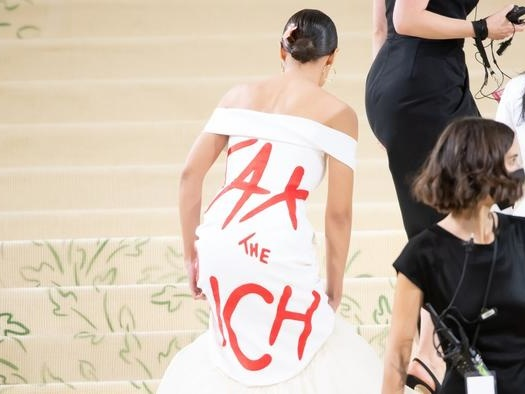 The Masking Of The Servant Class: Ugly COVID Images From The Met Gala Are Now Commonplace