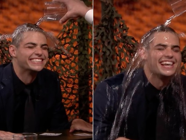 Noah Centineo Is Both Hilarious and Ruthless In His Water War Game With Jimmy Fallon