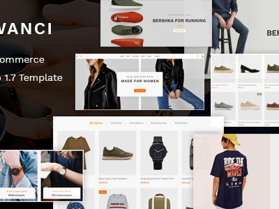 Wanci - Responsive Fashion Prestashop Theme (Fashion)