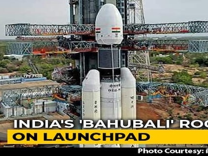"First Images Of India's ""Bahubali"" Rocket That Will Launch Chandrayaan-2"