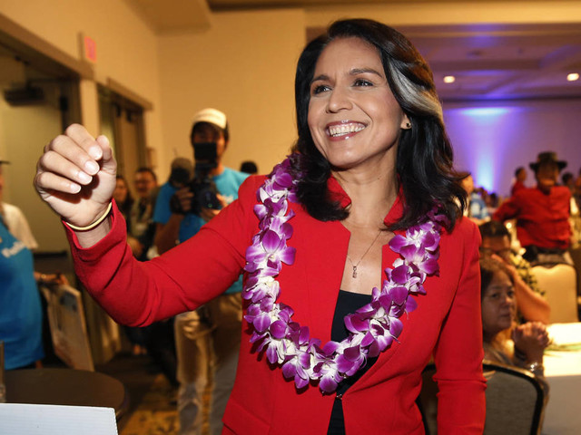 Hawaii's Tulsi Gabbard running for president in 2020