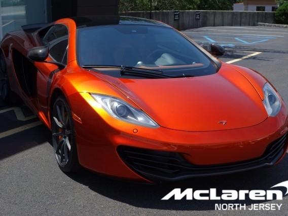 2012 McLaren 12C Coupe
