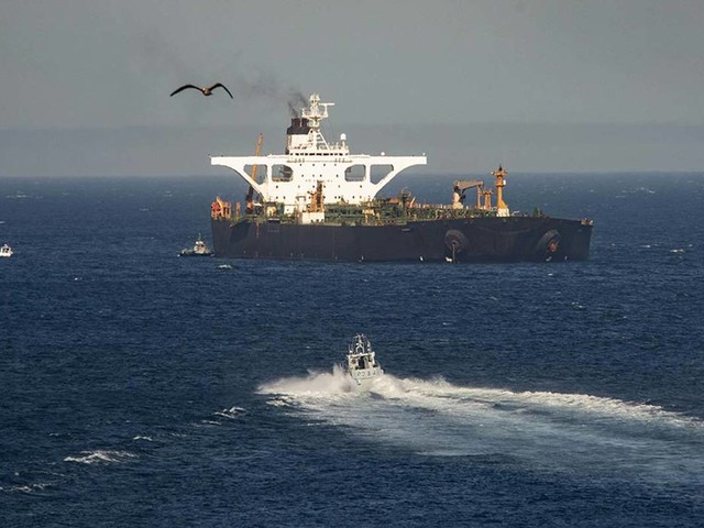 Greece says it won't assist Iranian tanker sought by US
