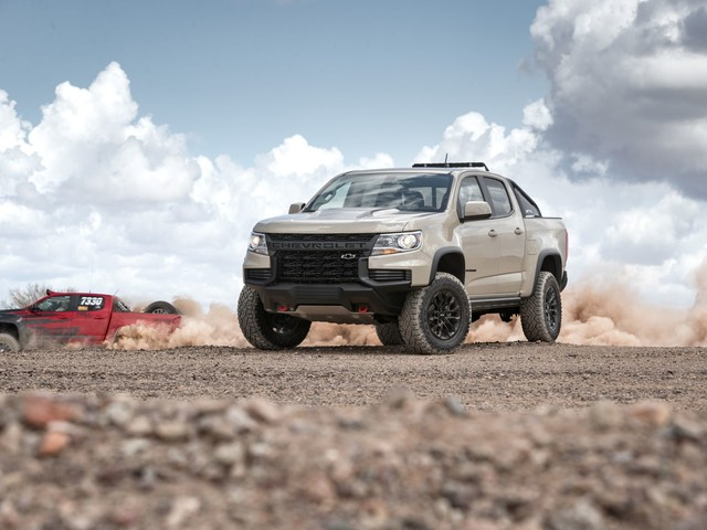 This Just In: Reworked 2021 Chevrolet Colorado Ready To Kick Some Dirt!