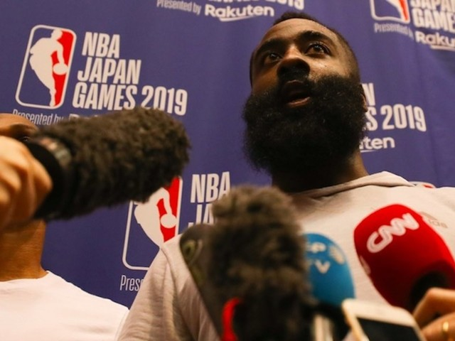 Houston Rockets star James Harden apologizes to China after GM's tweet supports Hong Kong protesters: 'We love China'