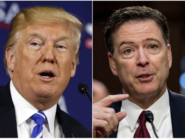 Trump complains that Comey is making money off his book while Flynn's life is 'totally destroyed'