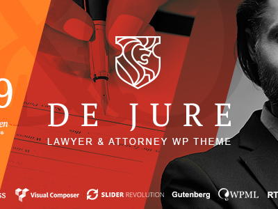 De Jure - Attorney and Lawyer WP Theme (Business)