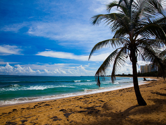 United – $257: Chicago – San Juan, Puerto Rico. Roundtrip, including all Taxes