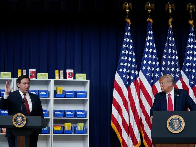 Florida Gov. DeSantis Joins President Trump As He Signs Executive Orders To Lower Rx Drug Prices