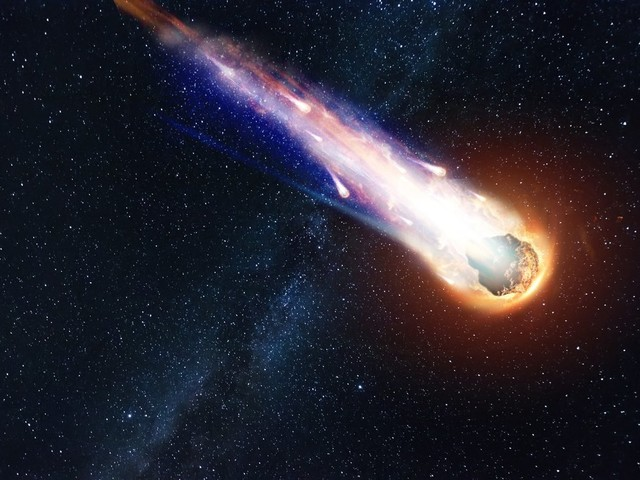 Comet Ingredients Swallowed by an Asteroid, Found Sealed Inside a Meteorite