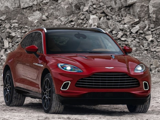 Aston Martin just unveiled its $189,000 DBX SUV in China. Here's a closer look.