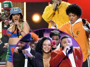 GRAMMY ISH: Bruno & Cardi Bring 90's Vibes, Kendrick Kills Everything, Thick Rihanna Hits Dance Moves With Khaled & Bryson + Janelle Monae's Powerful #TIMESUP Speech + Mama Tina Shades Grammys