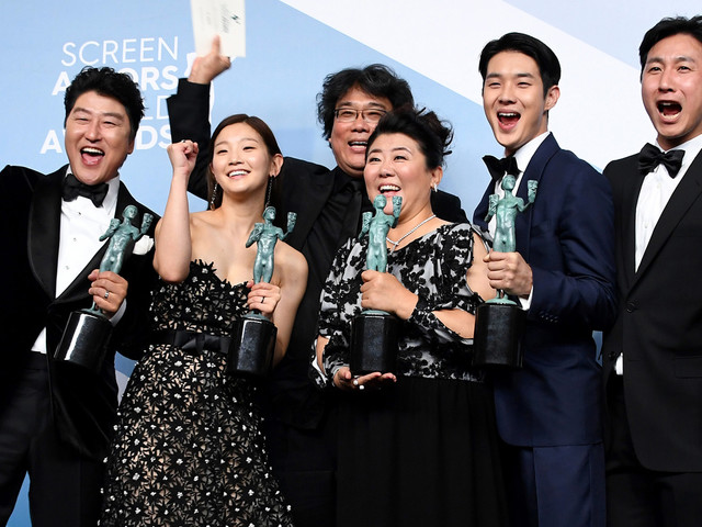 'Parasite' Becomes First Foreign Film to Win Best Cast at SAG Awards 2020 (Video)