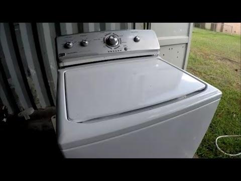 Maytag Centennial HE Washer Fix - YouTube