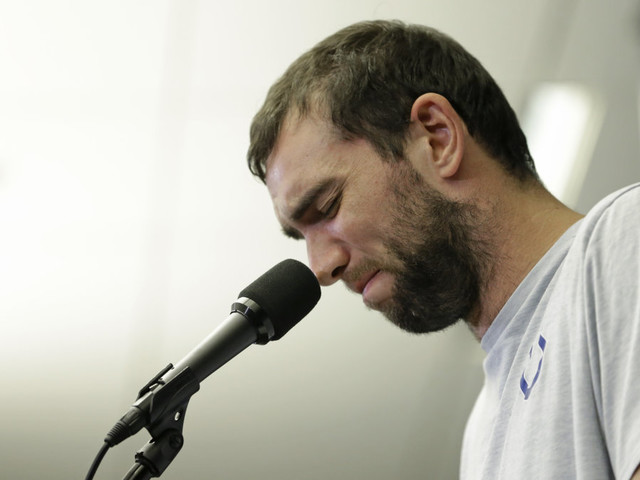 Andrew Luck 'hurt' by booing fans after retirement announcement