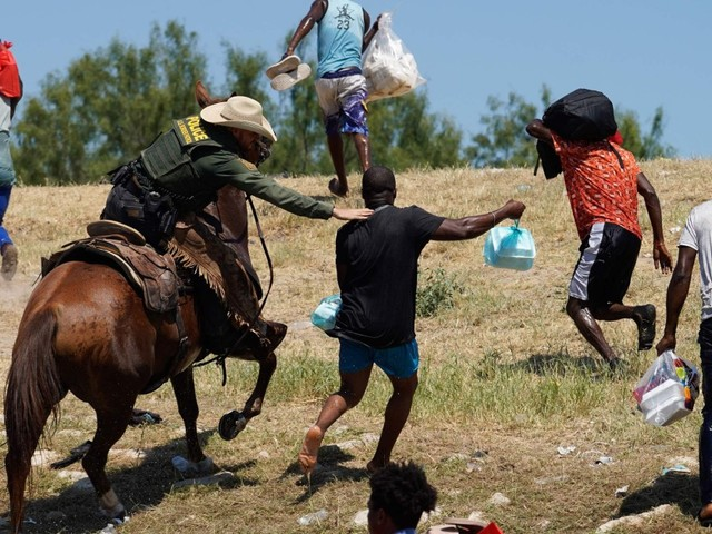Biden says officials seen chasing Haitians on horseback 'will pay'