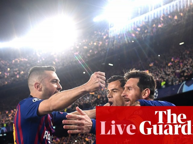 Barcelona v Manchester United: Champions League quarter-final – live!