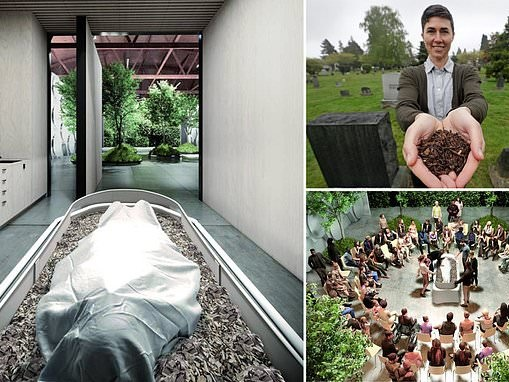 World's first funeral home dedicated to human composting is set to open in Washington in 2021