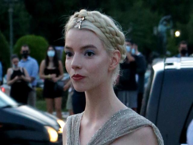 Anya Taylor-Joy Is A Glittering Goddess at Christian Dior's Cruise 2022 Runway Show