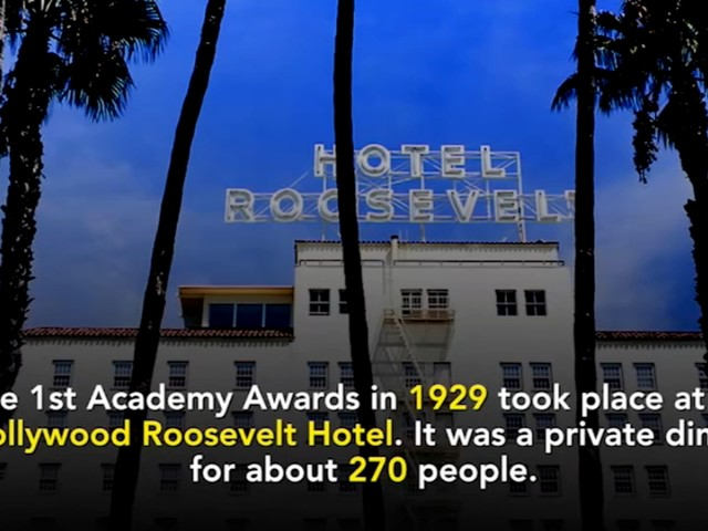 Oscars Through the Years: Fun Facts