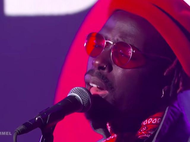 Black Pumas Perform 'Colors' On 'Kimmel'