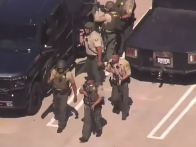 California police had a massive response when a deputy said he was hit by sniper fire — then he confessed the hoax