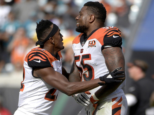 NFL notes: Bengals' Vontaze Burfict avoids suspension; Chiefs waive Roy Miller