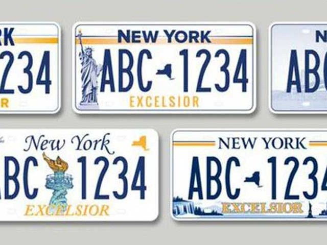 Governor calls on New Yorkers to vote for new official state license plate
