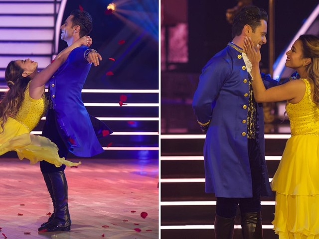 DWTS: Ally Brooke's Beauty and the Beast Dance Was So Stunning, It Got the First 9's of the Season