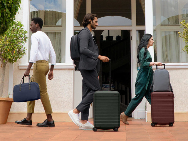 The Away carry-on suitcase is a must-have travel essential