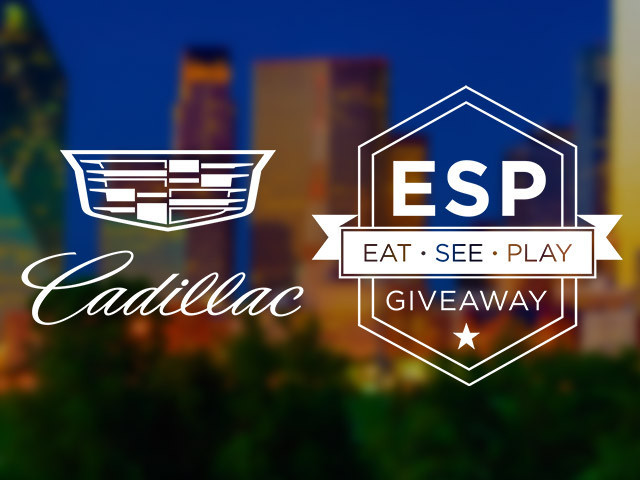 Cadillac Eat.See.Play Giveaway: Snow Day Dallas