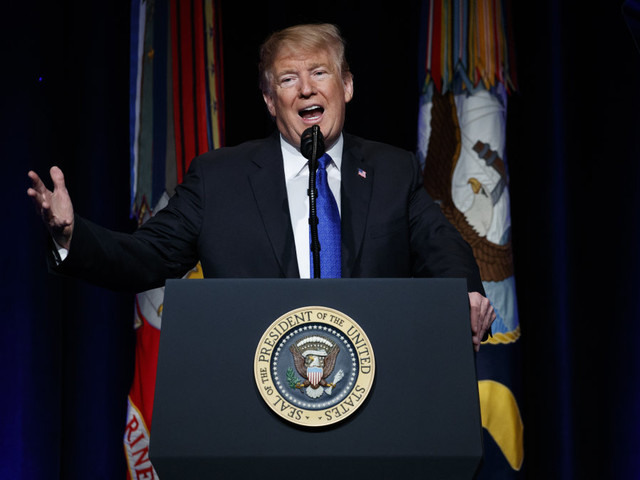 Trump says U.S. will develop space-based missile defense